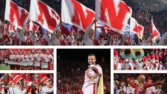 Photos of 2016 Cornhusker Marching Band