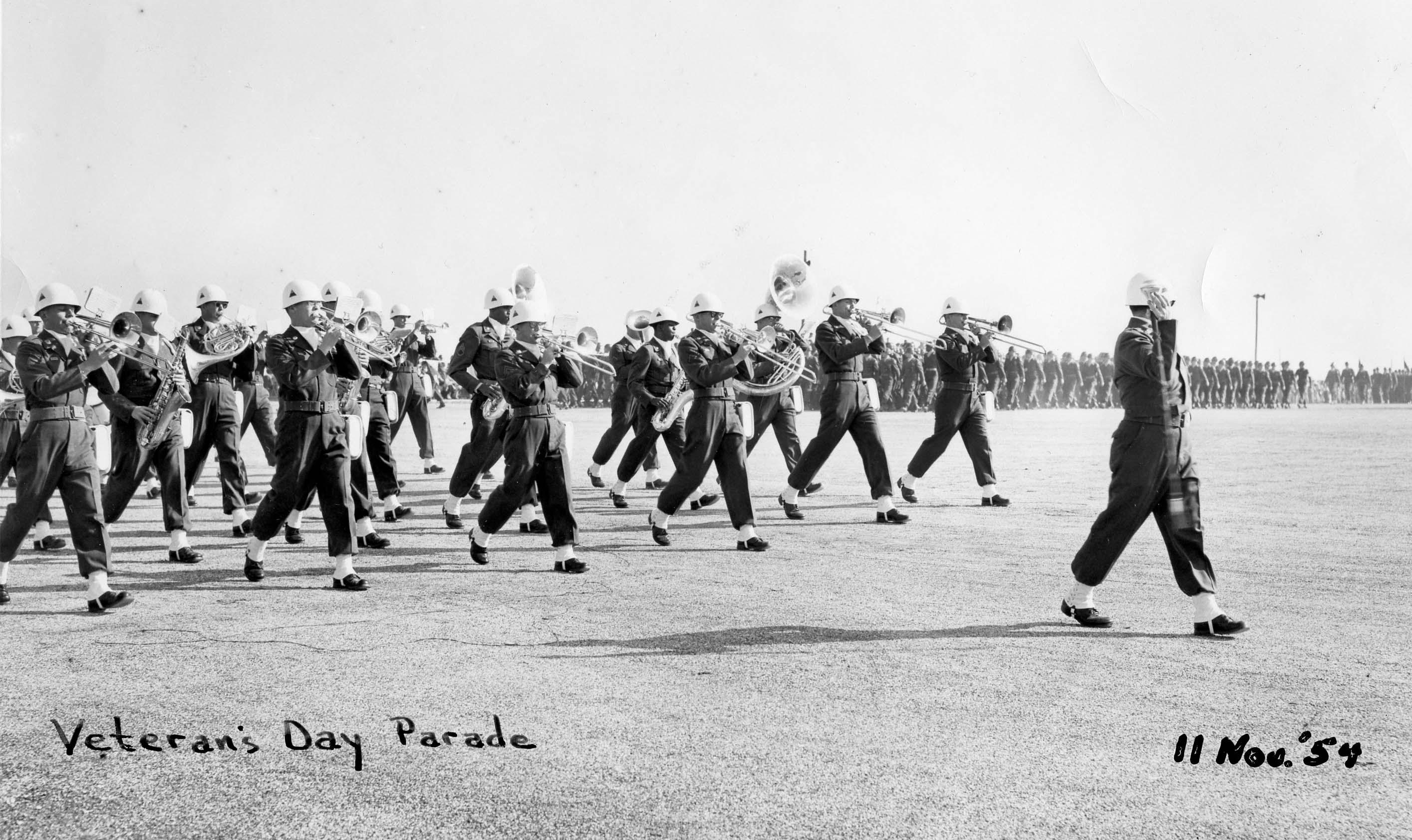 Veteran's Day Parade, 11 November 1954