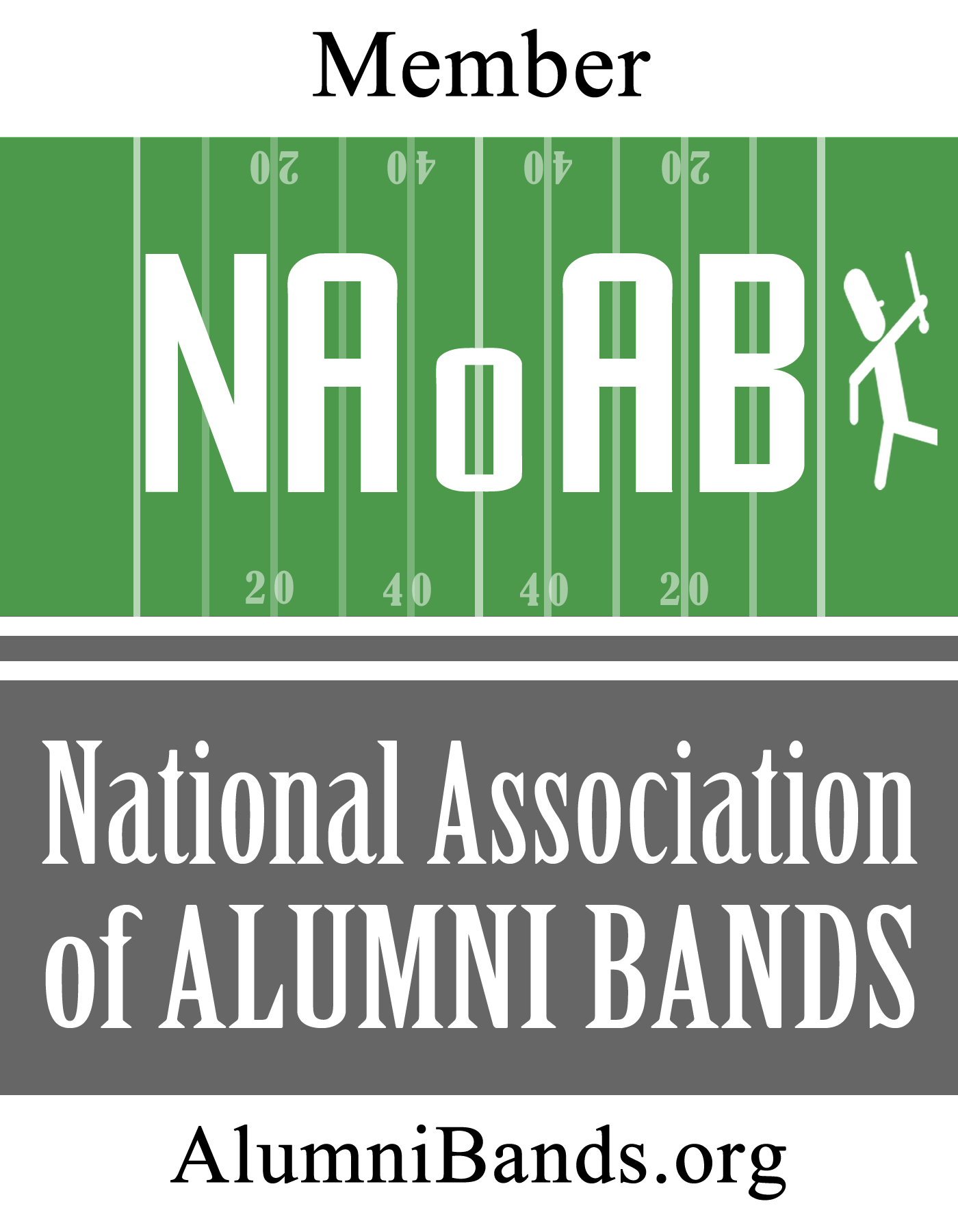 Member of the National Association of Alumni Bands